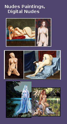 Nudes Paintings, Digital Nudes